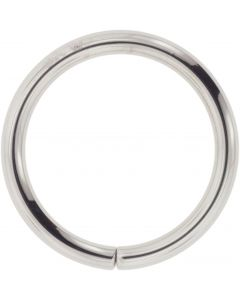 Blue Mountain Steel Seam Ring in Steel