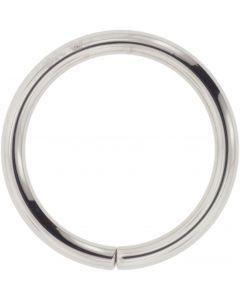 Blue Mountain Steel Seam Ring in Steel