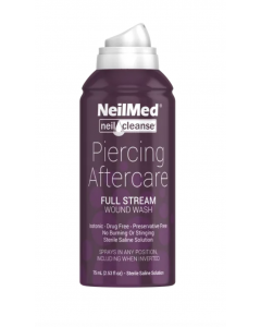 NeilMed Piercing Aftercare Full Stream - 6oz