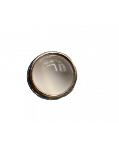Anatometal Cabochon Threaded End in Titanium