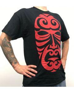 Fatty's Black Mask Tshirt