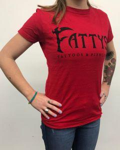 Fatty's Red T Shirt