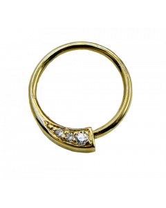 BVLA Prysm Seam Ring in Gold